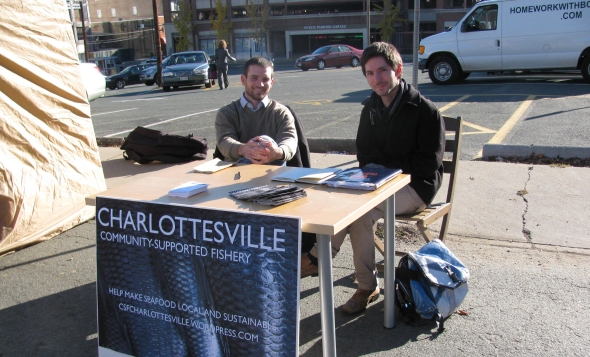 At the Farmer's Market - November 13, 2010